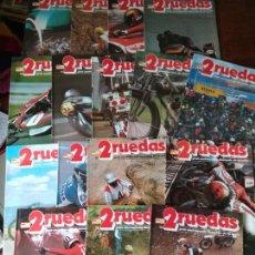 Coleccionismo deportivo: 2RUEDAS, ENCICLOPEDIA DE LA MOTO- 16 REVISTAS + TOMO- LOTE DEL Nº 1 AL 16- 2 RUEDAS DOS. Lote 167924988