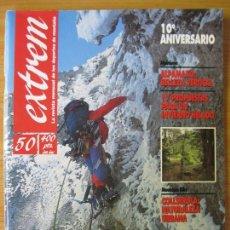 Coleccionismo deportivo: EXTREM - Nº 50 DICIEMBRE 1991 - REVISTA DE LOS DEPORTES DE MONTAÑA. Lote 167969192