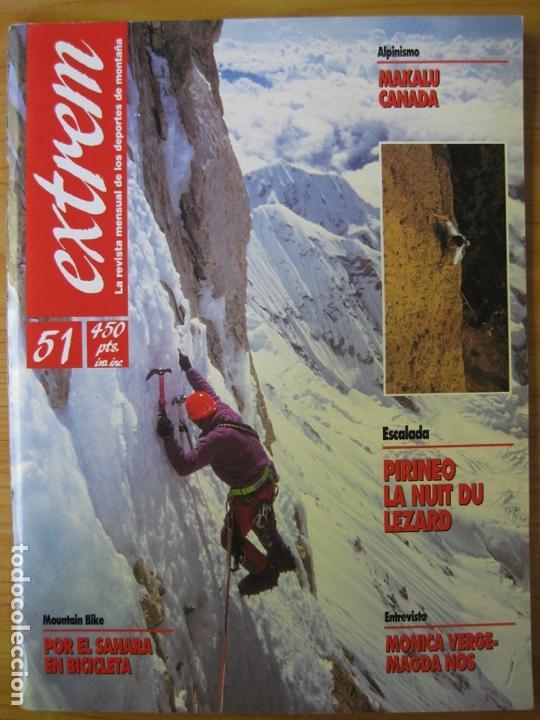 EXTREM - Nº 51 ENERO-FEBRERO 1992 - REVISTA DE LOS DEPORTES DE MONTAÑA (Coleccionismo Deportivo - Revistas y Periódicos - otros Deportes)