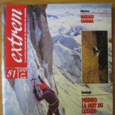 Coleccionismo deportivo: EXTREM - Nº 51 ENERO-FEBRERO 1992 - REVISTA DE LOS DEPORTES DE MONTAÑA. Lote 167969268
