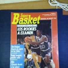 Coleccionismo deportivo: SUPER BASKET NUMERO N 11 DICIEMBRE 1989. Lote 168110380