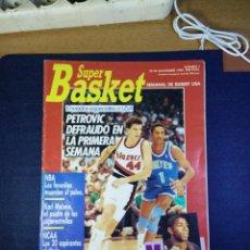 Coleccionismo deportivo: SUPER BASKET NUMERO N 7 NOVIEMBRE 1989. Lote 168110864
