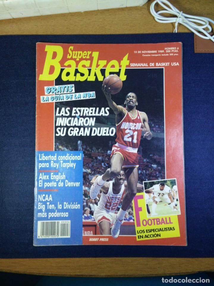 SUPER BASKET NUMERO N 6 NOVIEMBRE 1989 (Coleccionismo Deportivo - Revistas y Periódicos - otros Deportes)