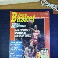 Coleccionismo deportivo: SUPER BASKET NUMERO N 6 NOVIEMBRE 1989. Lote 168111012