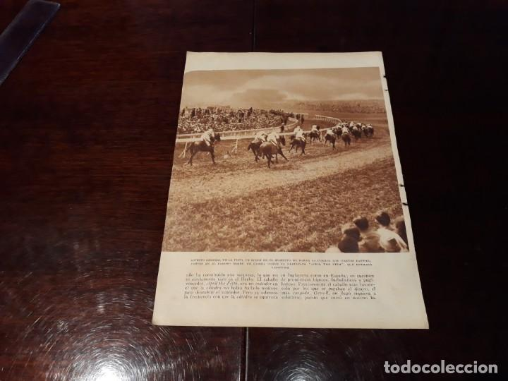 Coleccionismo deportivo: ATLETA JUAN CARLOS ZABALA ARGENTINA Y CICLISTA LOUYET BÉLGICA - AÑO 1931 HOJA REVISTA - Foto 2 - 168589760