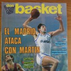 Coleccionismo deportivo: DON BASKET EXTRA LIGA 87-88, EXTRA N°14. Lote 168838096