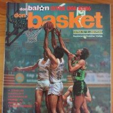 Coleccionismo deportivo: DON BASKET EXTRA N°9, EXTRA LIGA 85-86 / INCLUYE MUCHOS POSTERS. Lote 168838761
