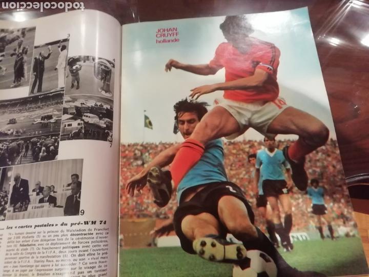 Coleccionismo deportivo: Revista mundial 1974 Alemania. 64 páginas del evento. - Foto 3 - 169095570