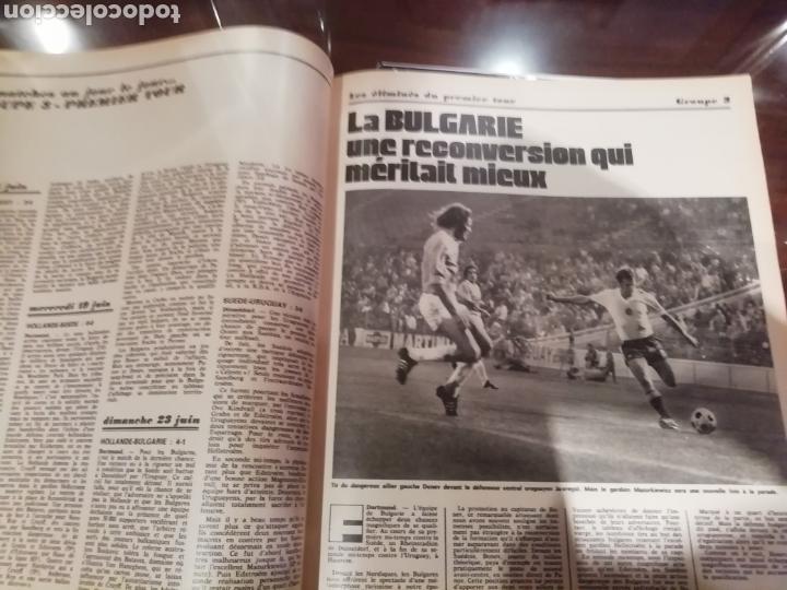 Coleccionismo deportivo: Revista mundial 1974 Alemania. 64 páginas del evento. - Foto 5 - 169095570