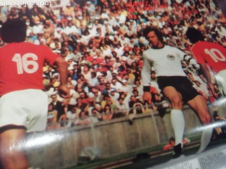Coleccionismo deportivo: Revista mundial 1974 Alemania. 64 páginas del evento. - Foto 6 - 169095570