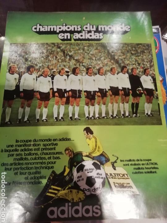 Coleccionismo deportivo: Revista mundial 1974 Alemania. 64 páginas del evento. - Foto 7 - 169095570