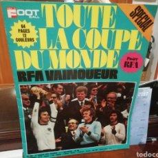 Coleccionismo deportivo: REVISTA MUNDIAL 1974 ALEMANIA. 64 PÁGINAS DEL EVENTO.. Lote 169095570