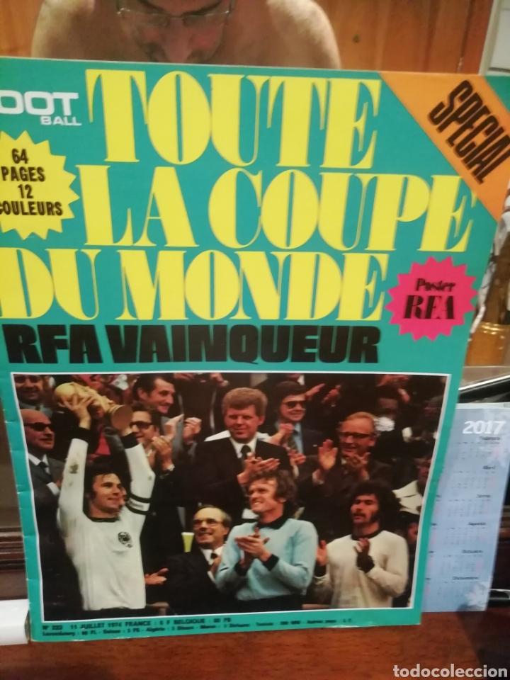 Coleccionismo deportivo: Revista mundial 1974 Alemania. 64 páginas del evento. - Foto 2 - 169095570