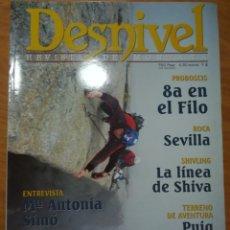 Coleccionismo deportivo: REVISTA DE MONTAÑA DESNIVEL Nº 168 DIC 2000 PUIG CAMPANA ANNAPURNA VALLE REMUÑE. Lote 169176448