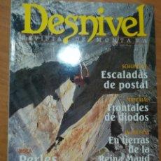 Coleccionismo deportivo: REVISTA DE MONTAÑA DESNIVEL Nº 176 SEPTIEMBRE 2001 ESCALADAS DE POSTAL ANTARTIDA MAUD. Lote 169315140