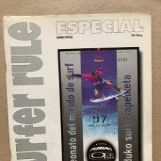 Colecionismo desportivo: SURFER RULE NÚMERO ESPECIAL CAMPEONATO PULAS OP PRO 1997. EN PERFECTO ESTADO.. Lote 169423780