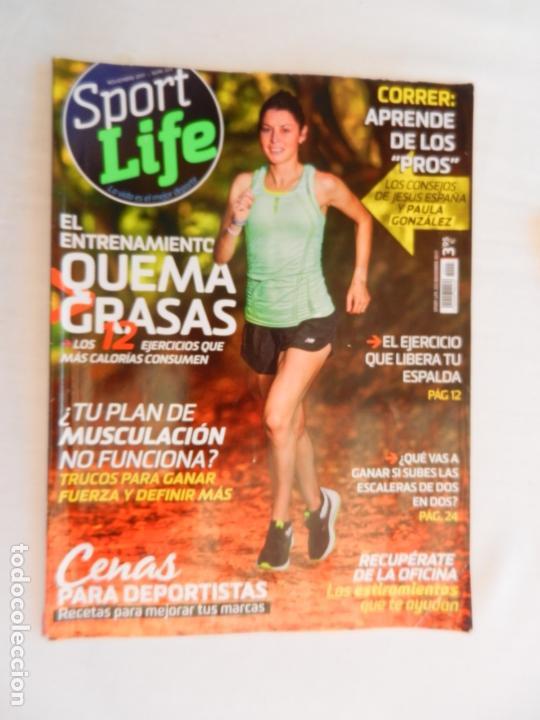 SPORT LIFE REVISTA Nº 223 , NOVIEMBRE 2017 (Coleccionismo Deportivo - Revistas y Periódicos - otros Deportes)