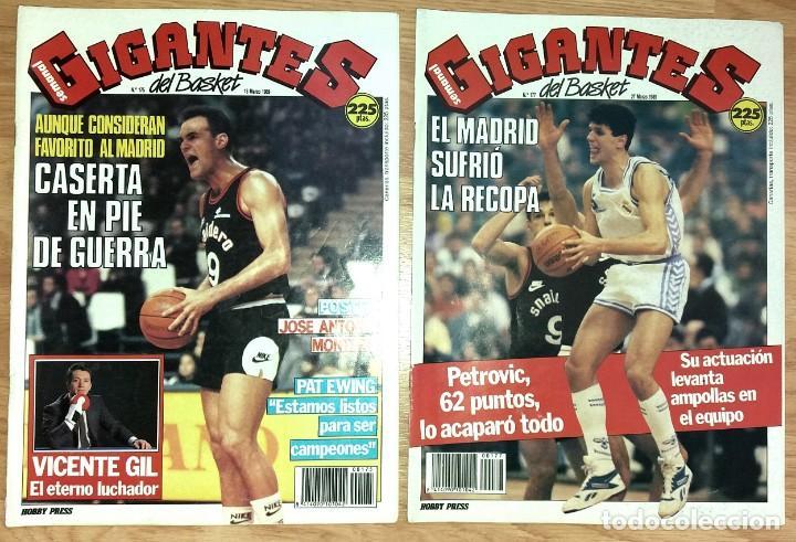 Coleccionismo deportivo: REVISTA GIGANTES DEL BASKET. LOTE de 10 NUMEROS. AÑO 1989. CON POSTERS. - Foto 2 - 169572160
