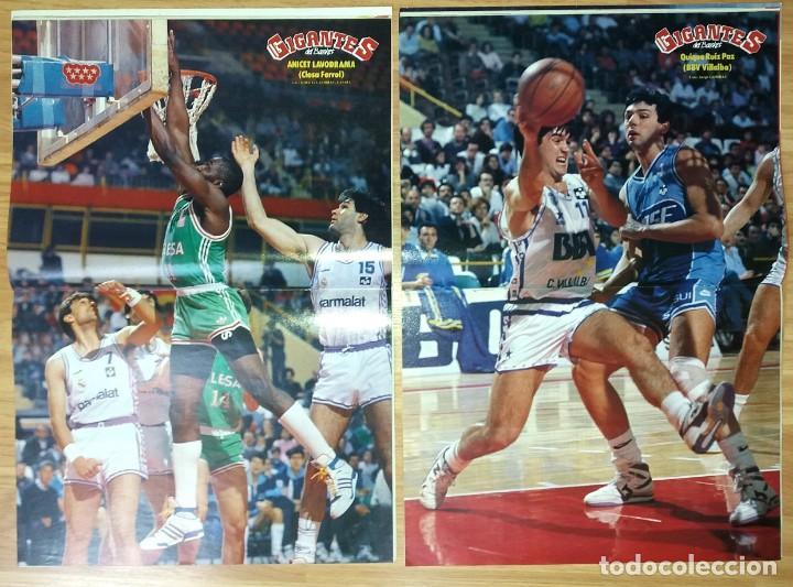 Coleccionismo deportivo: REVISTA GIGANTES DEL BASKET. LOTE de 10 NUMEROS. AÑO 1989. CON POSTERS. - Foto 8 - 169572160