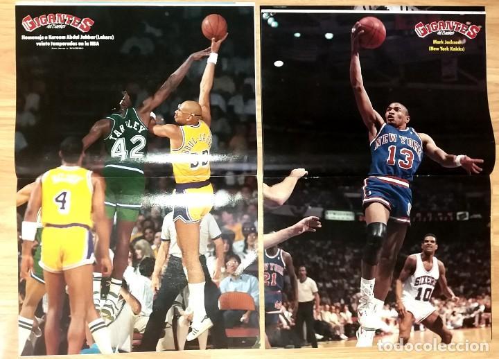 Coleccionismo deportivo: REVISTA GIGANTES DEL BASKET. LOTE de 10 NUMEROS. AÑO 1989. CON POSTERS. - Foto 9 - 169572160