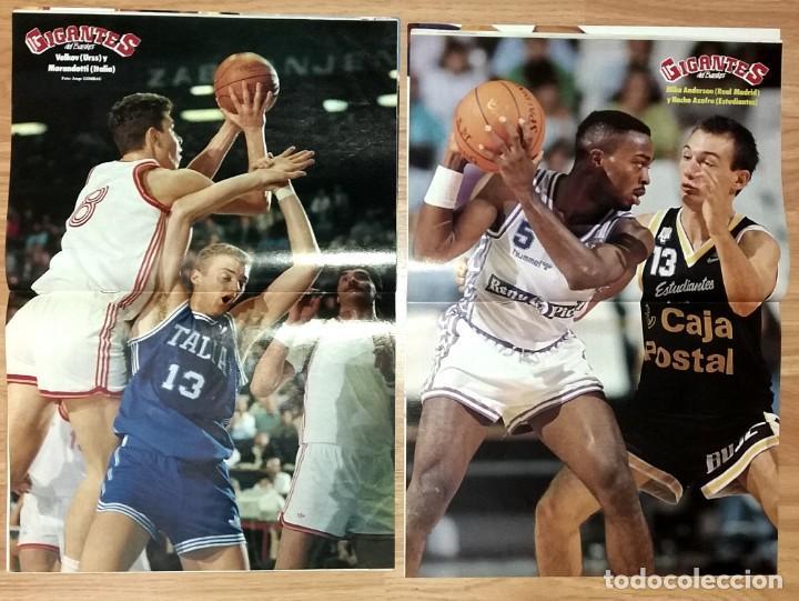 Coleccionismo deportivo: REVISTA GIGANTES DEL BASKET. LOTE de 10 NUMEROS. AÑO 1989. CON POSTERS. - Foto 11 - 169572160