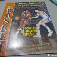Coleccionismo deportivo: REVISTA NUEVO BASKET Nº 48 AÑO 1981 BUEN ESTADO. Lote 170856150