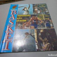 Coleccionismo deportivo: REVISTA NUEVO BASKET Nº 46 AÑO 1981 BUEN ESTADO. Lote 170856445