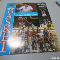 Coleccionismo deportivo: REVISTA NUEVO BASKET Nº 76 AÑO 1982 BUEN ESTADO. Lote 170856790
