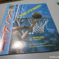 Coleccionismo deportivo: REVISTA NUEVO BASKET Nº 41 AÑO 1981 BUEN ESTADO. Lote 170856945