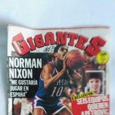 Coleccionismo deportivo: REVISTA GIGANTES DEL BASKET N° 22 ABRIL 1986. Lote 170988082