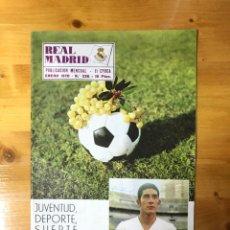 Coleccionismo deportivo: LOTE DE 12 REVISTAS, REAL MADRID, AÑO COMPLETO 1970.. Lote 170992102