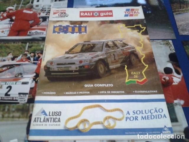 GUIA RALLY DE PORTUGAL 1994 ( RALI GUIA COMPLETO ) HORARIOS - TRAMOS - PILOTOS - MARCAS (Coleccionismo Deportivo - Revistas y Periódicos - otros Deportes)