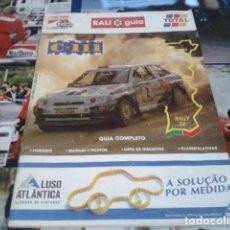 Coleccionismo deportivo: GUIA RALLY DE PORTUGAL 1994 ( RALI GUIA COMPLETO ) HORARIOS - TRAMOS - PILOTOS - MARCAS . Lote 171456354