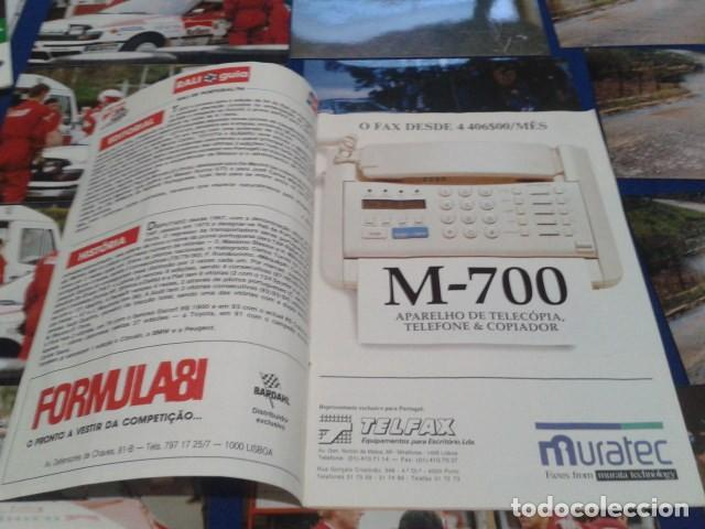 Coleccionismo deportivo: GUIA RALLY DE PORTUGAL 1994 ( RALI GUIA COMPLETO ) HORARIOS - TRAMOS - PILOTOS - MARCAS - Foto 2 - 171456354