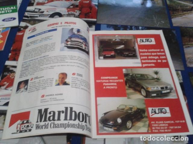 Coleccionismo deportivo: GUIA RALLY DE PORTUGAL 1994 ( RALI GUIA COMPLETO ) HORARIOS - TRAMOS - PILOTOS - MARCAS - Foto 6 - 171456354