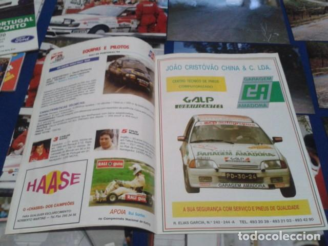 Coleccionismo deportivo: GUIA RALLY DE PORTUGAL 1994 ( RALI GUIA COMPLETO ) HORARIOS - TRAMOS - PILOTOS - MARCAS - Foto 7 - 171456354
