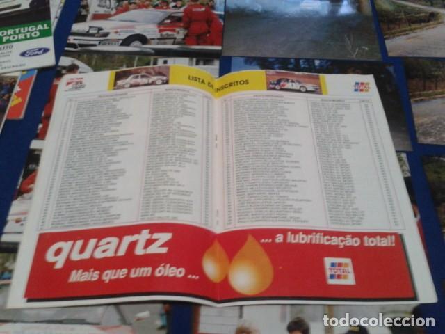 Coleccionismo deportivo: GUIA RALLY DE PORTUGAL 1994 ( RALI GUIA COMPLETO ) HORARIOS - TRAMOS - PILOTOS - MARCAS - Foto 9 - 171456354