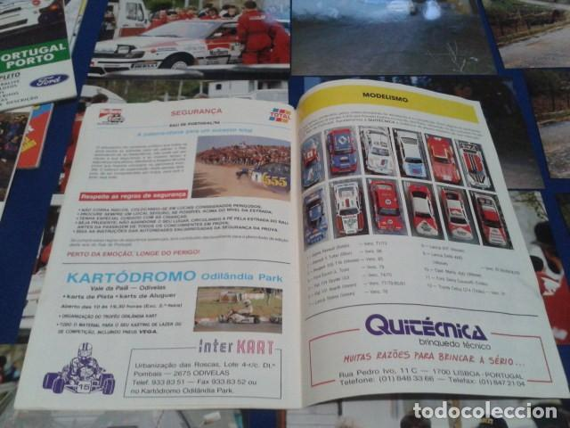 Coleccionismo deportivo: GUIA RALLY DE PORTUGAL 1994 ( RALI GUIA COMPLETO ) HORARIOS - TRAMOS - PILOTOS - MARCAS - Foto 14 - 171456354