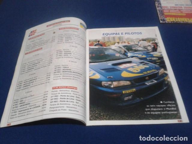 Coleccionismo deportivo: REVISTA GUIA TAP ( RALLY DE PORTUGAL ) DEL 16 AL 19 DE MARZO 2000 INSCRITOS - PALMARES - EQUIPOS - Foto 5 - 171638885