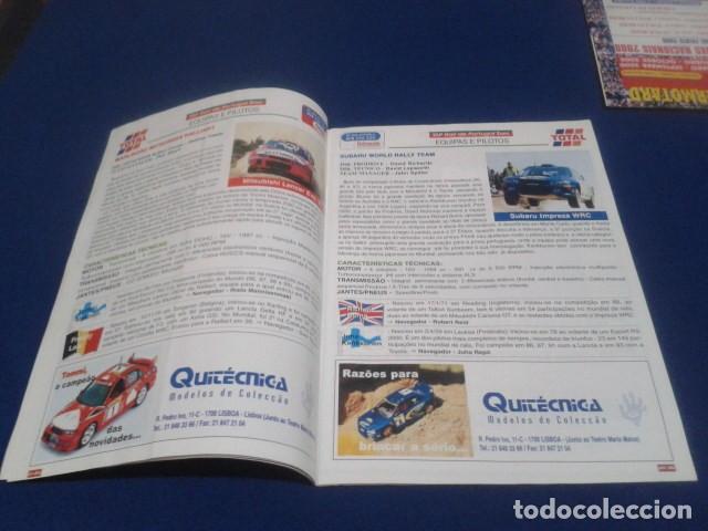 Coleccionismo deportivo: REVISTA GUIA TAP ( RALLY DE PORTUGAL ) DEL 16 AL 19 DE MARZO 2000 INSCRITOS - PALMARES - EQUIPOS - Foto 6 - 171638885
