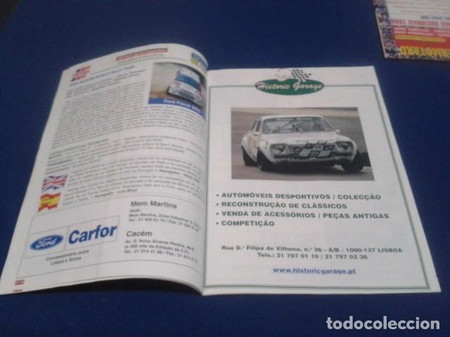 Coleccionismo deportivo: REVISTA GUIA TAP ( RALLY DE PORTUGAL ) DEL 16 AL 19 DE MARZO 2000 INSCRITOS - PALMARES - EQUIPOS - Foto 7 - 171638885