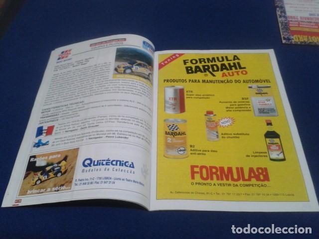 Coleccionismo deportivo: REVISTA GUIA TAP ( RALLY DE PORTUGAL ) DEL 16 AL 19 DE MARZO 2000 INSCRITOS - PALMARES - EQUIPOS - Foto 8 - 171638885
