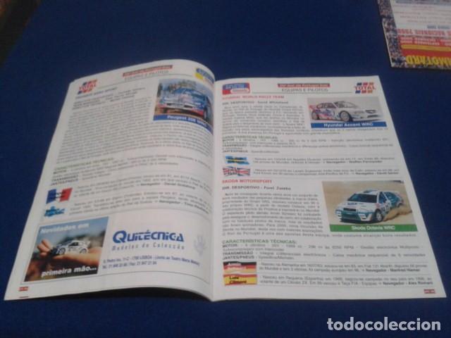 Coleccionismo deportivo: REVISTA GUIA TAP ( RALLY DE PORTUGAL ) DEL 16 AL 19 DE MARZO 2000 INSCRITOS - PALMARES - EQUIPOS - Foto 9 - 171638885