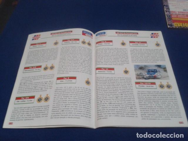 Coleccionismo deportivo: REVISTA GUIA TAP ( RALLY DE PORTUGAL ) DEL 16 AL 19 DE MARZO 2000 INSCRITOS - PALMARES - EQUIPOS - Foto 13 - 171638885