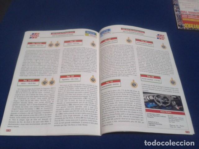 Coleccionismo deportivo: REVISTA GUIA TAP ( RALLY DE PORTUGAL ) DEL 16 AL 19 DE MARZO 2000 INSCRITOS - PALMARES - EQUIPOS - Foto 14 - 171638885
