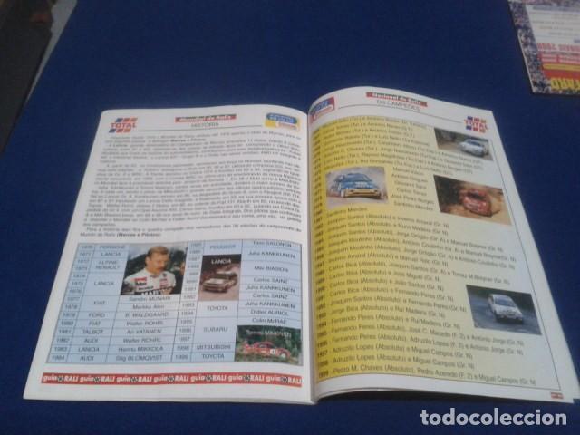 Coleccionismo deportivo: REVISTA GUIA TAP ( RALLY DE PORTUGAL ) DEL 16 AL 19 DE MARZO 2000 INSCRITOS - PALMARES - EQUIPOS - Foto 15 - 171638885