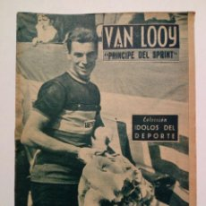Coleccionismo deportivo: REVISTA IDOLOS DEL DEPORTE Nº 63: VAN LOOY (5-5-1959) CICLISMO. Lote 171701405