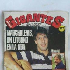 Coleccionismo deportivo: GIGANTES DEL BASKET JULIO 1989. Lote 171771593