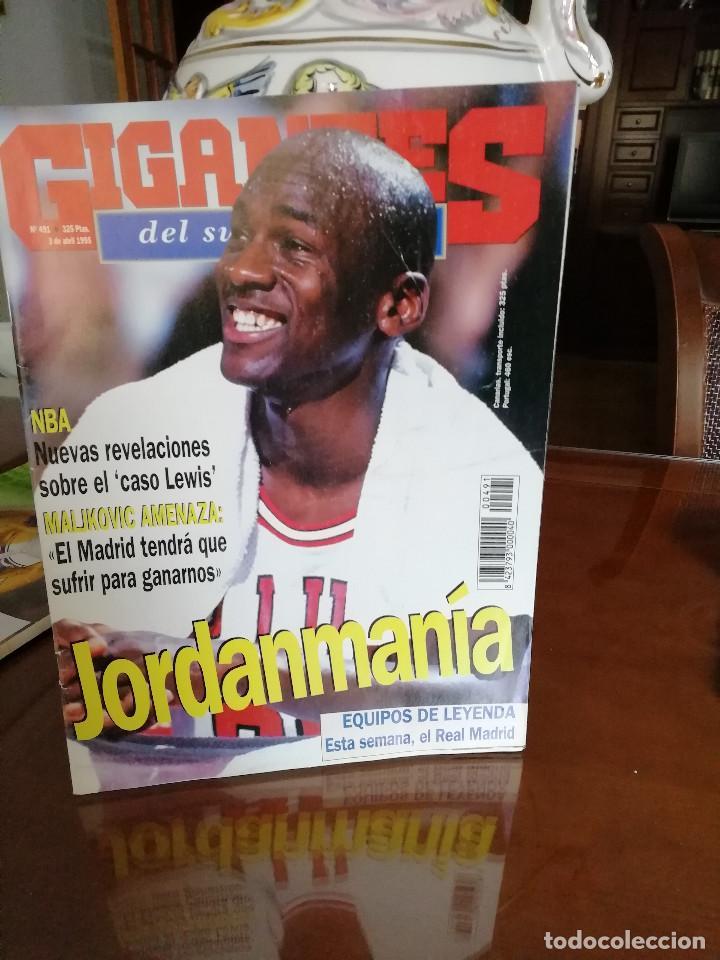 REVISTA GIGANTES BASKET. AÑOS 90 . MICHAEL JORDAN (Coleccionismo Deportivo - Revistas y Periódicos - otros Deportes)