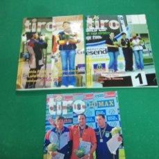 Coleccionismo deportivo: LOTE 3 REVISTAS TIRO OLÍMPICO - 2005, 2006 Y 2007. Lote 172114139
